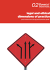 Cover of Dovetail Good Practice Guide 2: Legal and ethical dimensions of practice