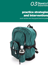 Cover of Dovetail Good Practice Guide 3: Practice strategies and interventions