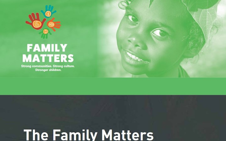 The family matters report