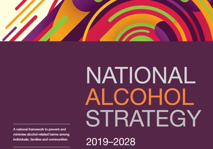 National Alcohol Strategy cover page